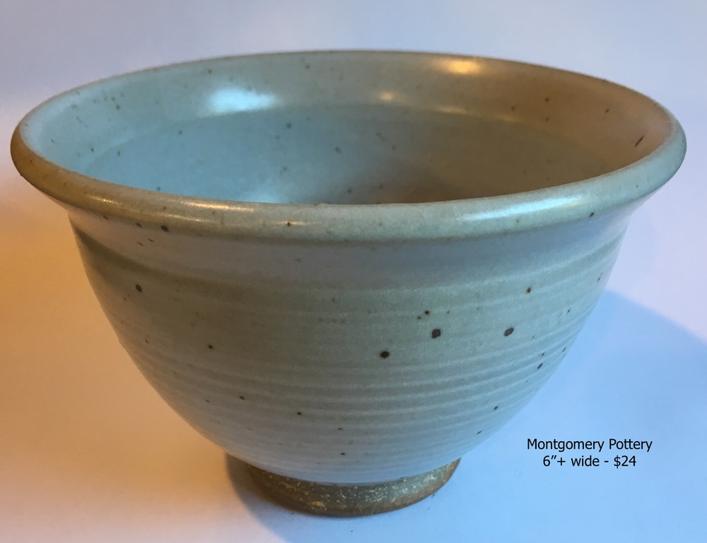Flared bowl, Temple white