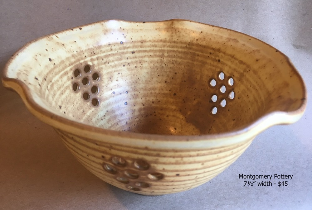 Tri-colander, Old yellow 7.5