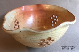 Tri-colander, Old yellow